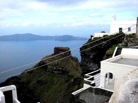 Uranos Traditional Houses: Oia from the private balcony