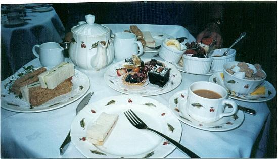 "The Montague on The Gardens: Tea was included in our ""Love London"" package"