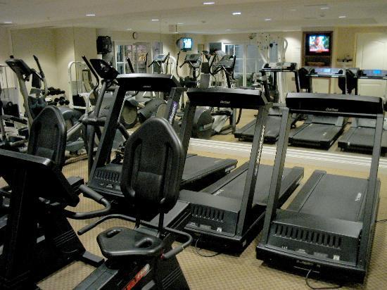 سان ماتيو ماريوت سان فرانسيسكو إيربورت: Workout room