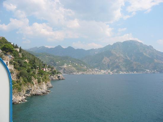 Villa San Michele : above the sea, on our balcony