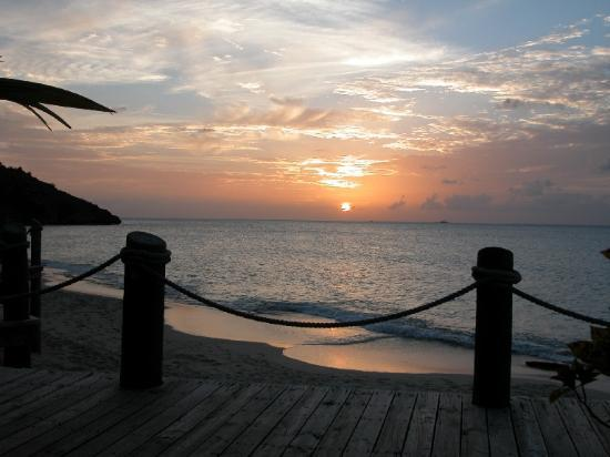 Galley Bay Resort : View from the Sunset Bar