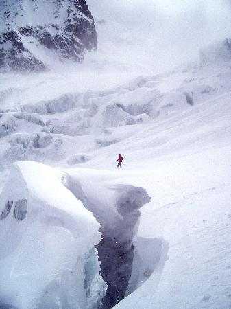 Gite le Vagabond: Skiing the Vallee Blanche