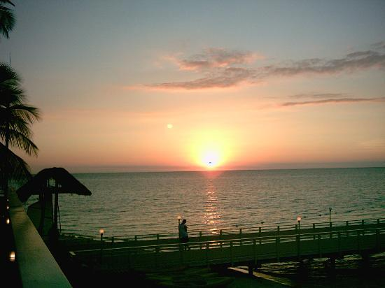 """Plantation Island Resort: One of the many beautiful sunsets from the """"Sunset Bar"""""""