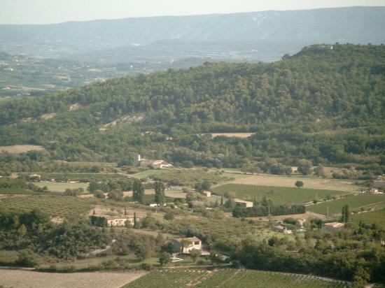 Le Bois Dormant : the Luberon - valley such a great sight