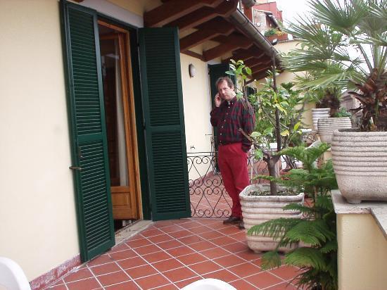 Hotel La Rovere: terrace superior room