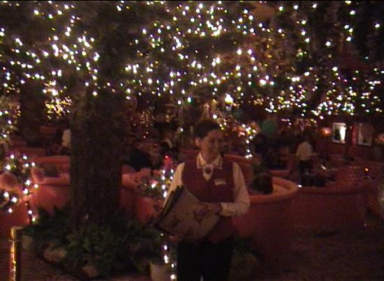 Madonna Inn: Dine under electric starlight