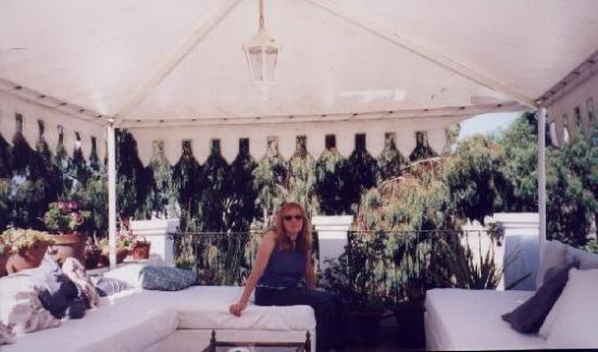 Hotel La Ventana: Me on the private roof terrace of La Ventana
