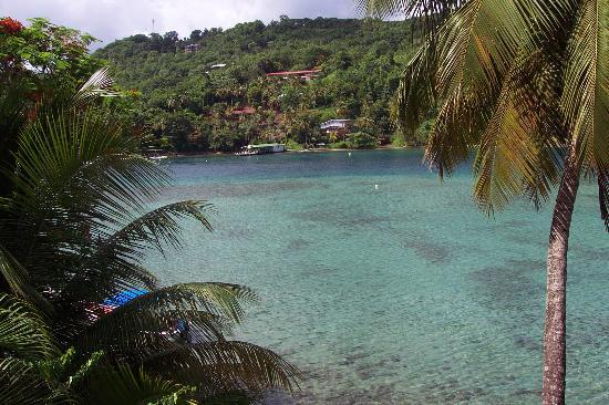 Marigot Bay, St. Lucia: bay view