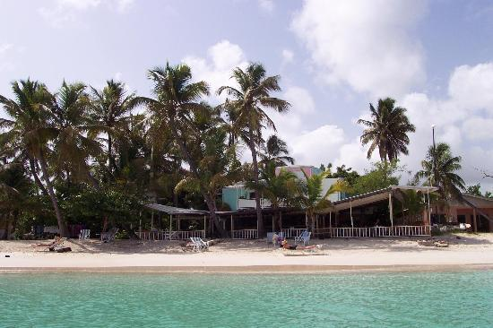 Siboney Beach Club: Siboney beach facing restaurant