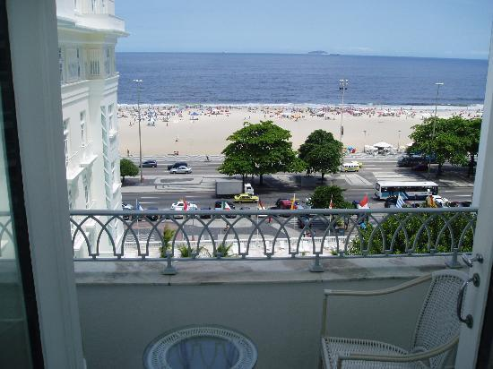 ‪‪Belmond Copacabana Palace‬: View from Balcony‬