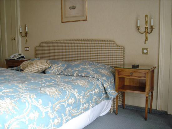 Hotel Beau-Rivage Geneva: The room