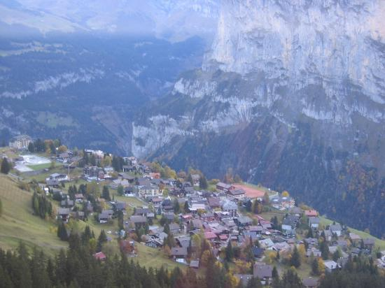 Chalet Fontana: Village of Murren