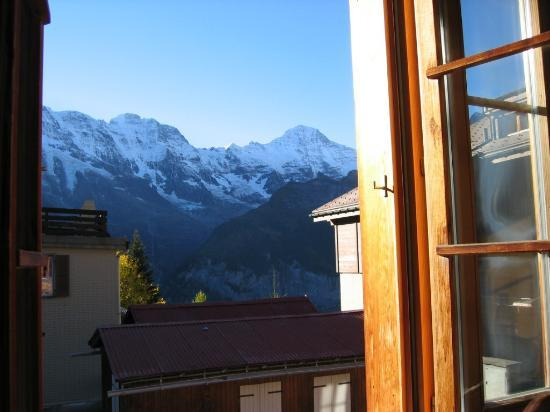 Chalet Fontana: View from room 1