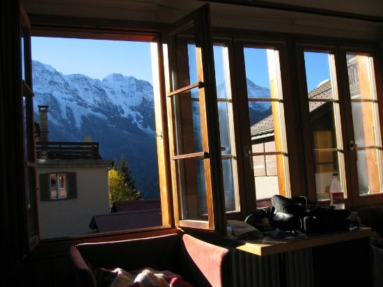 Chalet Fontana: View from room 2