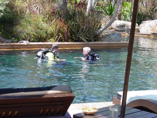 Marriott's Phuket Beach Club: me learning to scuba dive