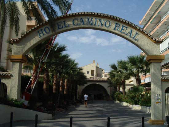 Hotel Pueblo Camino Real: main entry