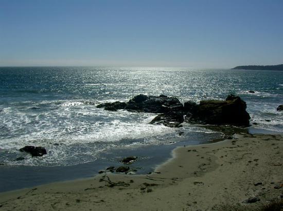 Silver Surf Motel: Ocean near Silver Surf