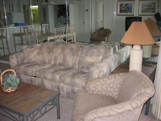 Carousel Resort Hotel & Condominiums: Living Room
