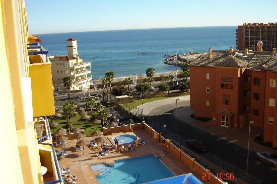 Hotel Apartamentos Vistamar: View from my Apt.