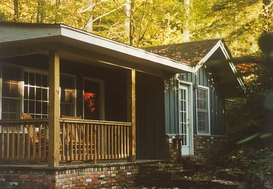 Black Bear Cottage in the Woods of Maggie Valley: Black Bear Cottage in the Woods