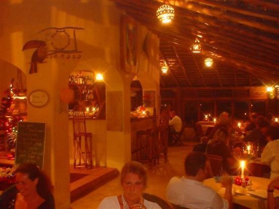 Piedra Escondida: Restaurant Bar