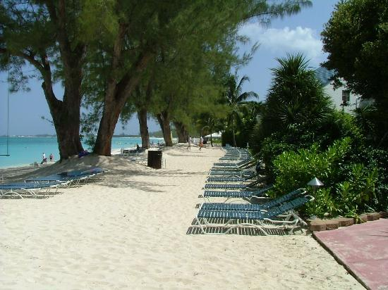 Beach Area At The Villas of The Galleon