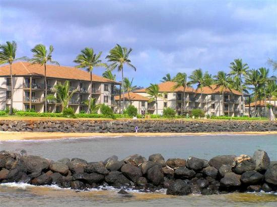 Pono Kai Resort: The resort from the ocean