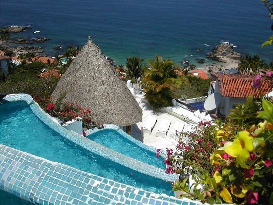 Ocho Cascadas: View from your pool.
