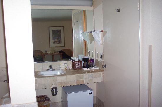 Laguna Brisas Hotel: Bathroom vanity