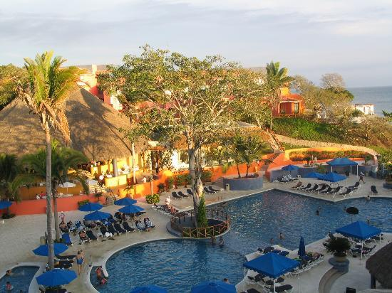 Grand Palladium Vallarta Resort & Spa: the view from our second room
