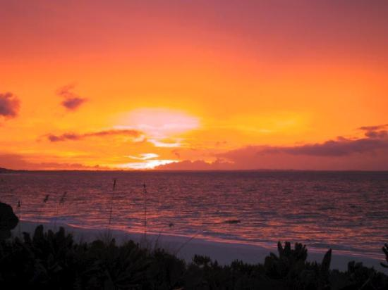 Grace Bay Club: A perfect sunset everyday!!