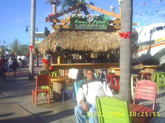 Orlando, FL: The Lone Palm Bar/Restaurant at Universal