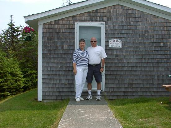 Seabreeze Campground & Cottages : Our cute little cabin