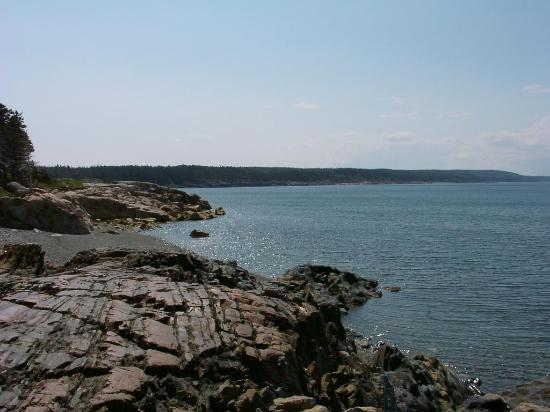 Seabreeze Campground & Cottages : View from near campground/cabins