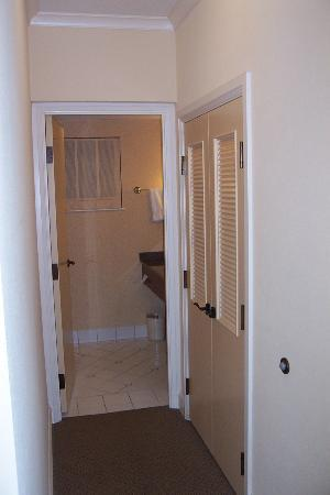 Closet & Hall Leading to Bathroom