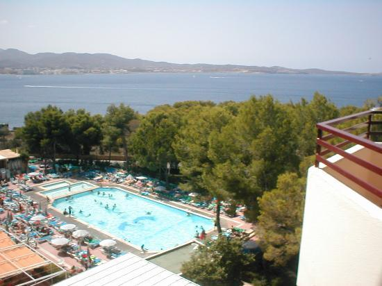 Fiesta Hotel Tanit: view from front bedroom
