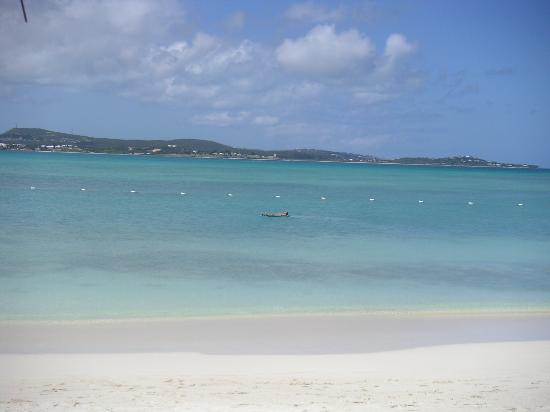 Jumby Bay Island : 'Chilling out'