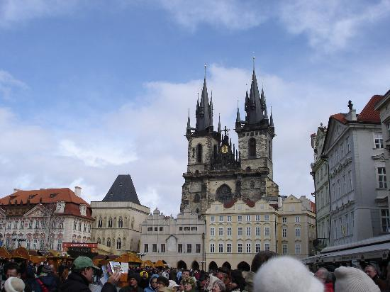 Old town square picture of le palais art hotel prague for Hotels near old town square prague