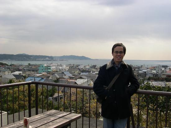 Panoramic view of Kamakura and the Sagami Bay
