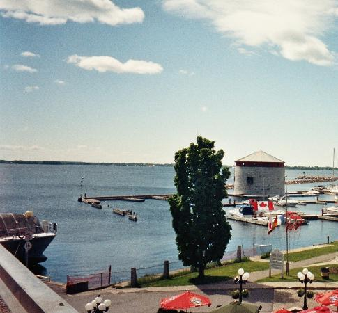 Confederation Place Hotel: The best bit - the view!