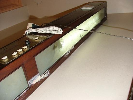 Tayhan Hotel:                                     lampes de lits 1 : terrarium...