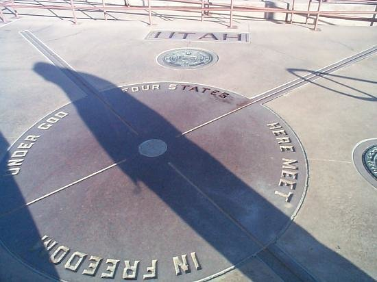 Teec Nos Pos, AZ: I was once told my butt was so big it's shadow would touch 4 states at once.  Guess they...