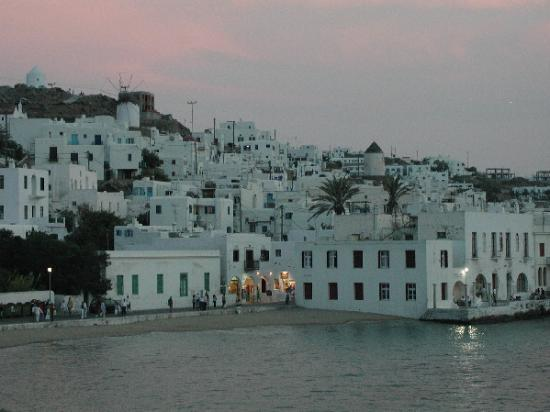 Villa Konstantin: Mykonos Town, just before Sunset