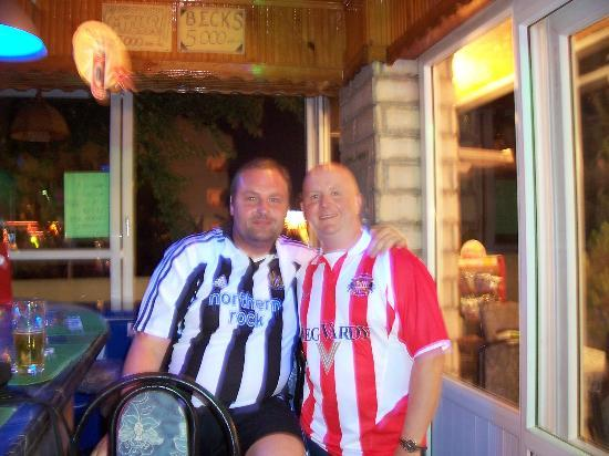 Ekin Hotel: Me & Harry (Sunderland fan)