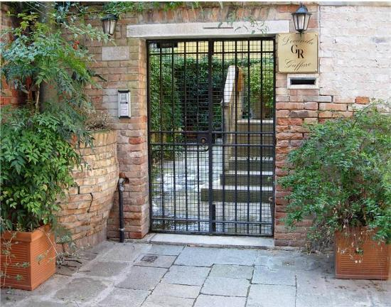 Hotel Locanda Gaffaro: Gaffaro's entrance