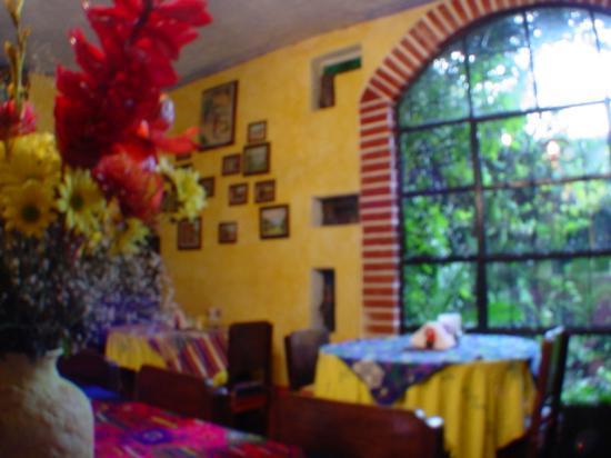 Posada Belen Museo Inn: dinning room