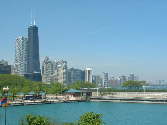 Inn of Chicago: Chicago Skyline from Navy Pier
