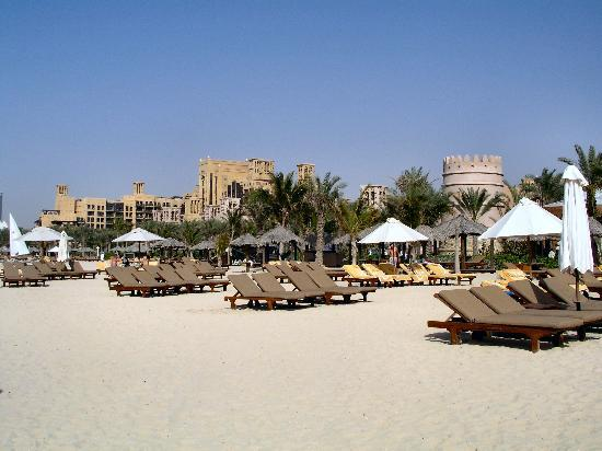 Jumeirah Al Qasr at Madinat Jumeirah : Private beach