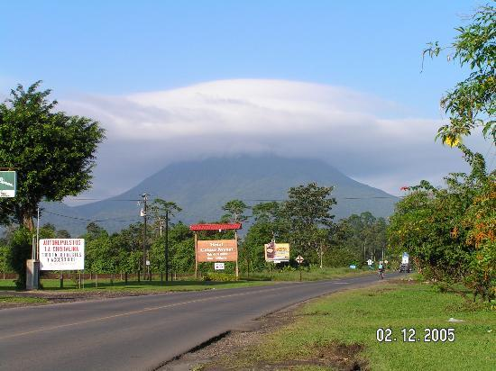Las Cabanitas Resort: Arenal Volcano from Las Cabanitas
