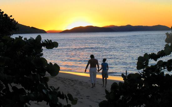 Mango Bay Resort : A Romantic Sunset Stroll